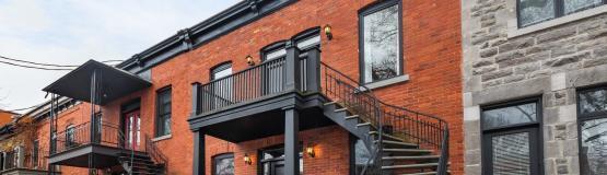 Maison à Montréal sur le Plateau Mont-Royal