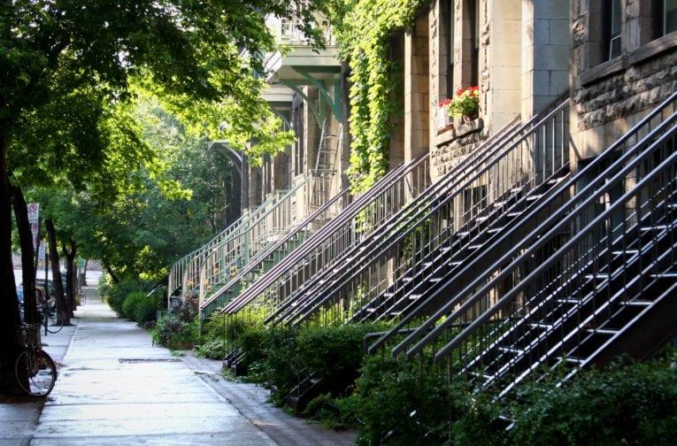 Maison en rangée de Montréal