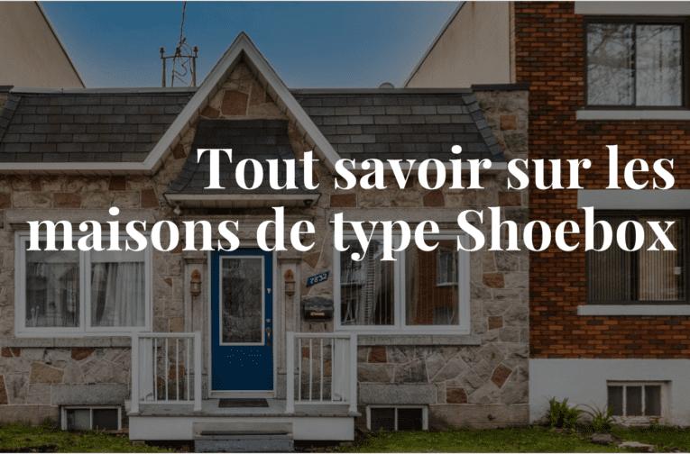 Actualité immobilière, maison de type shoebox