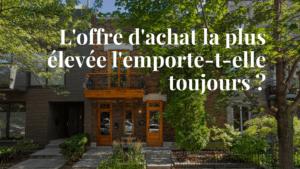 Offre d'achat à Montréal : astuces de nos courtiers