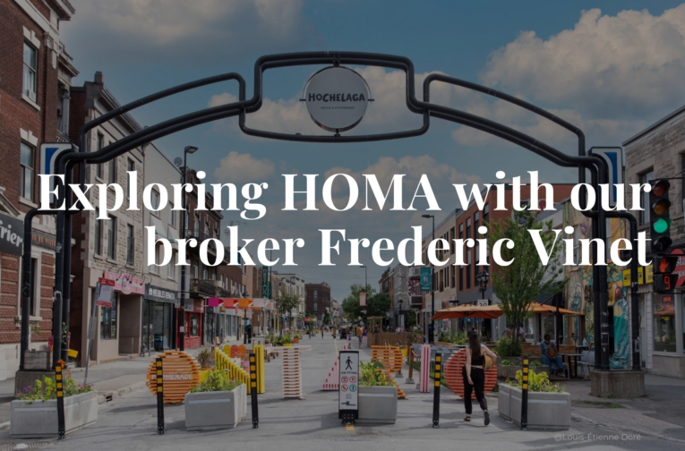 Exploring HOMA with our real estate broker Frederic Vinet