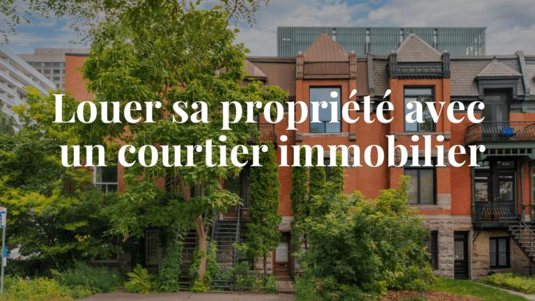 Façade Plateau Mont-Royal Montréal